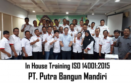 In House Training ISO 14001 2015