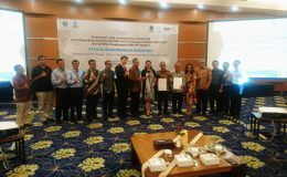 Penyerahan Sertifikasi ISO 9001 & Ohsas 18001 PT. PGAS Telekomunikasi Nusantara